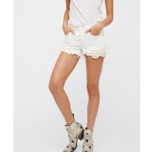 Free People We The Free Daisy Chain Lace Short